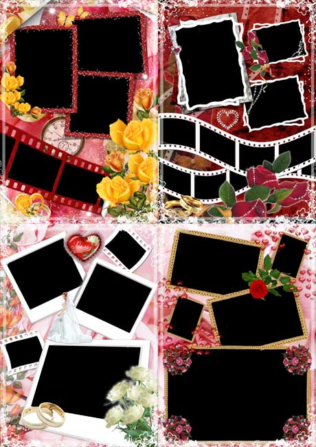 шаблон коллажа для фотошопа - фото 10